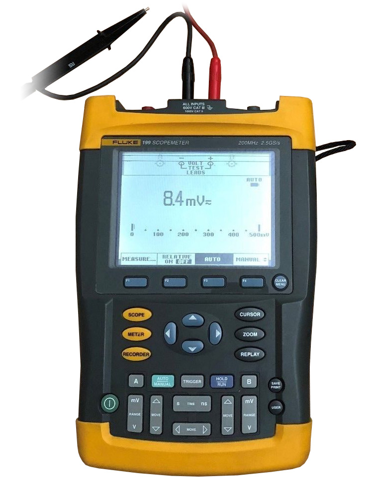 Fluke 199 Two Channel Scope Meter