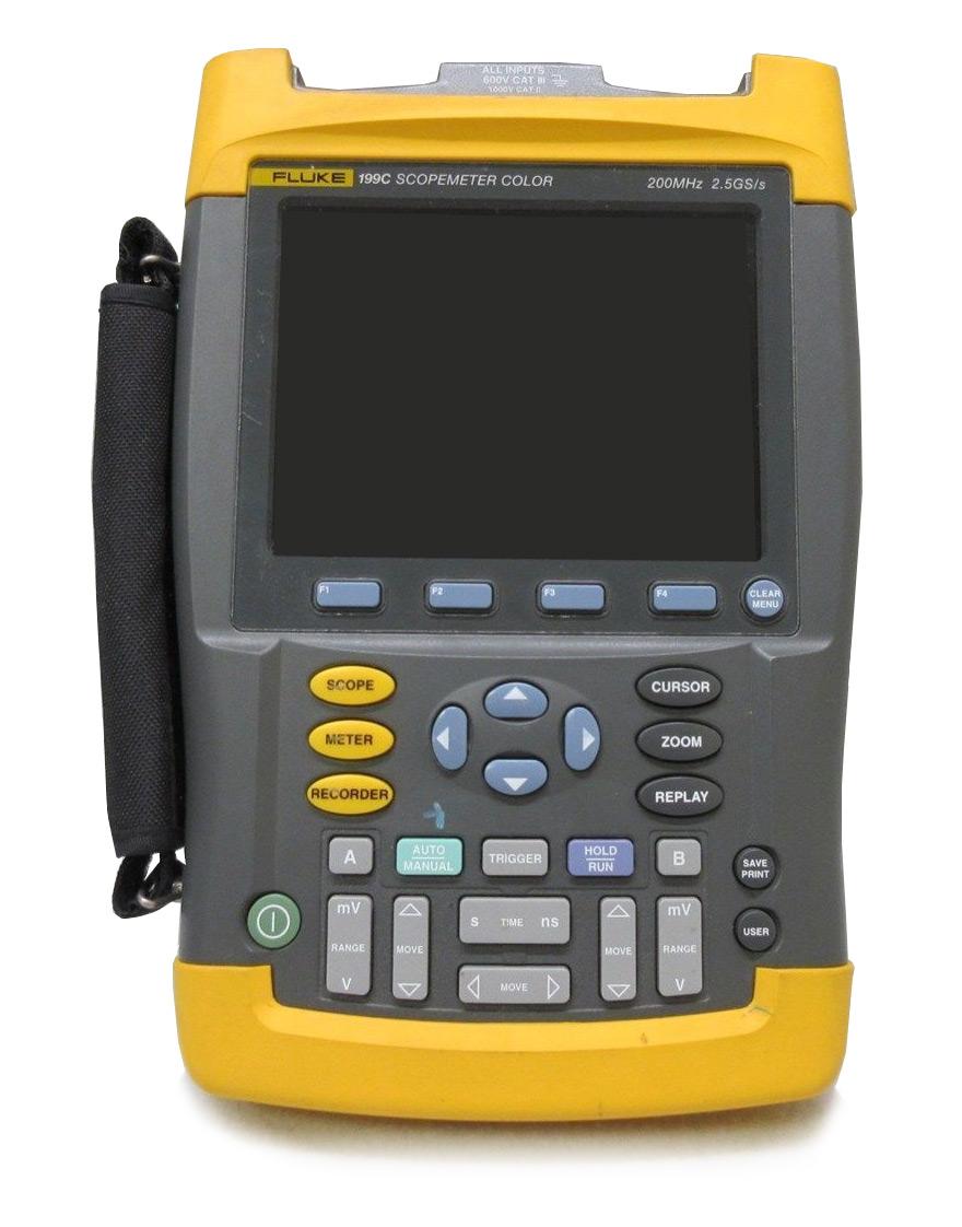 Fluke 199C ScopeMeter, 200 MHz, 2.5GS/s