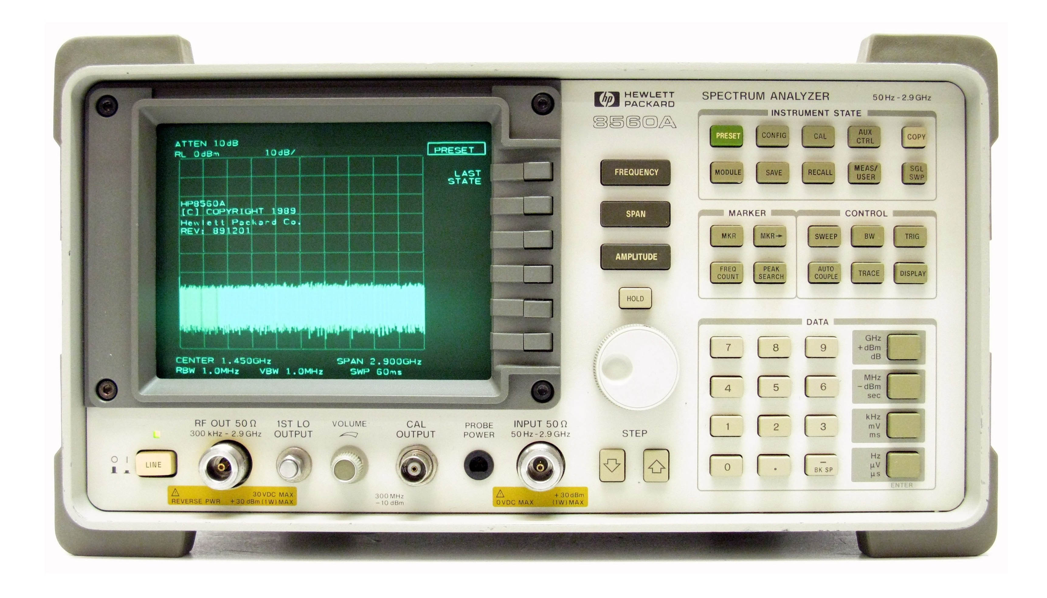 Keysight 8560A Portable Spectrum Analyzer