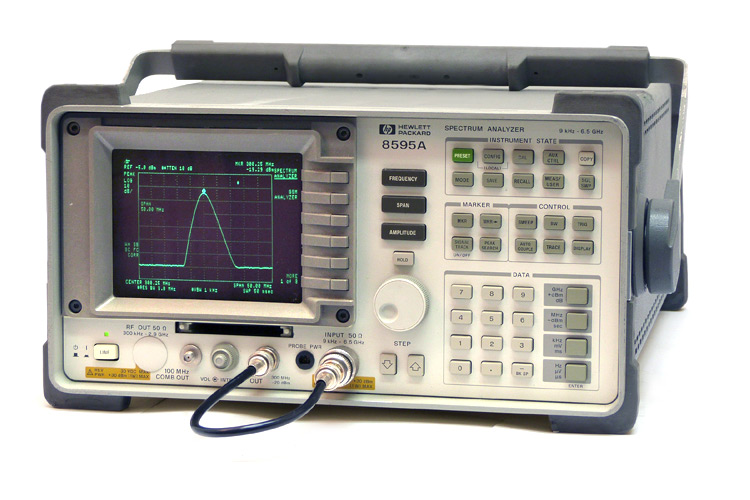 Keysight 8595A RF Spectrum Analyzer, 9 kHz-6.5 GHz