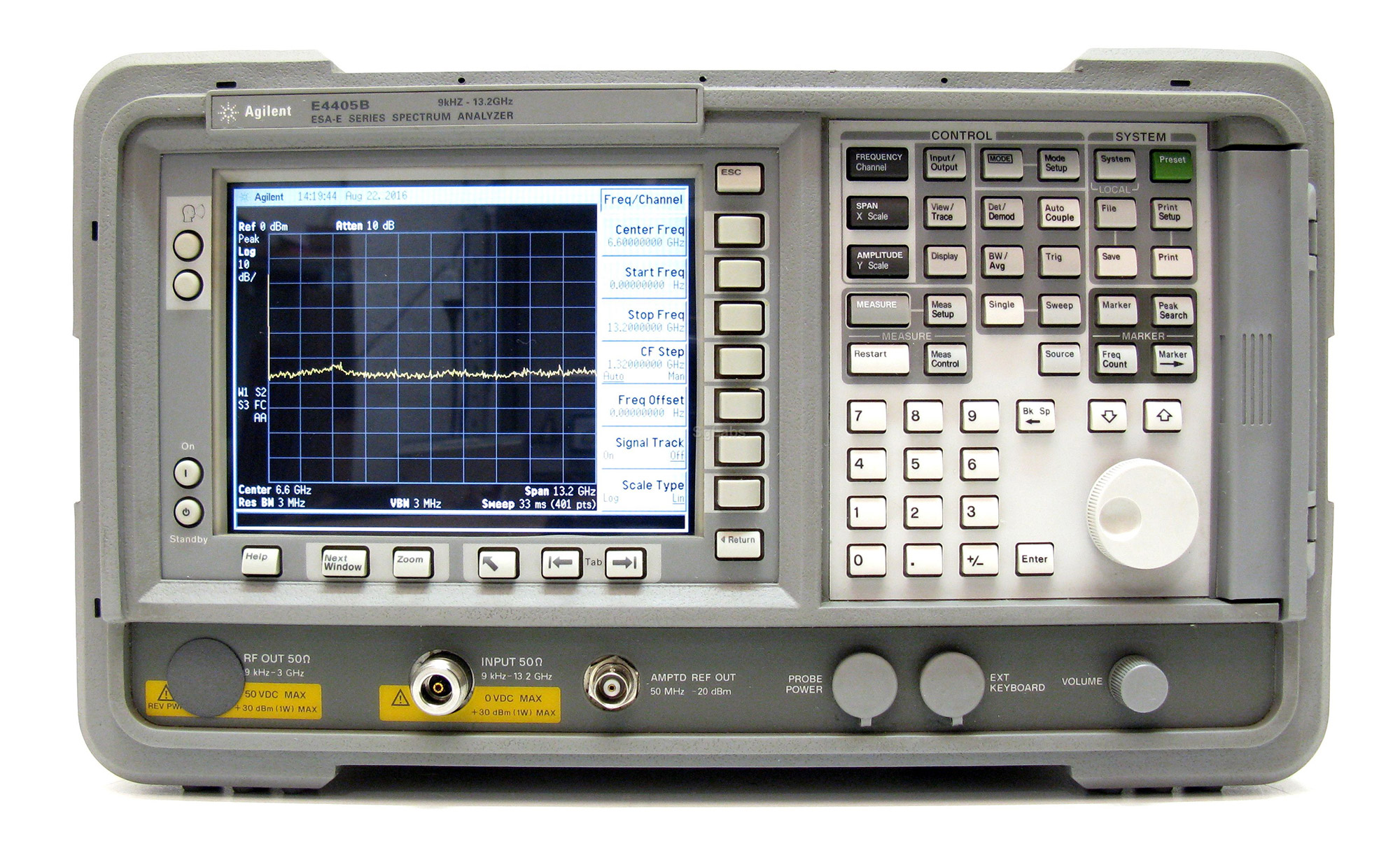Keysight E4405B 9 kHz - 13.2 GHz Spectrum Analyzer