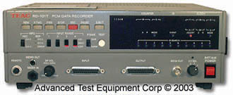 Teac RD 101T DAT PCM Data Recorder