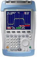 Rent Rohde & Schwarz FSH313 100 kHz to 3 GHz, Handheld Spectrum Analyzer with tracking generator