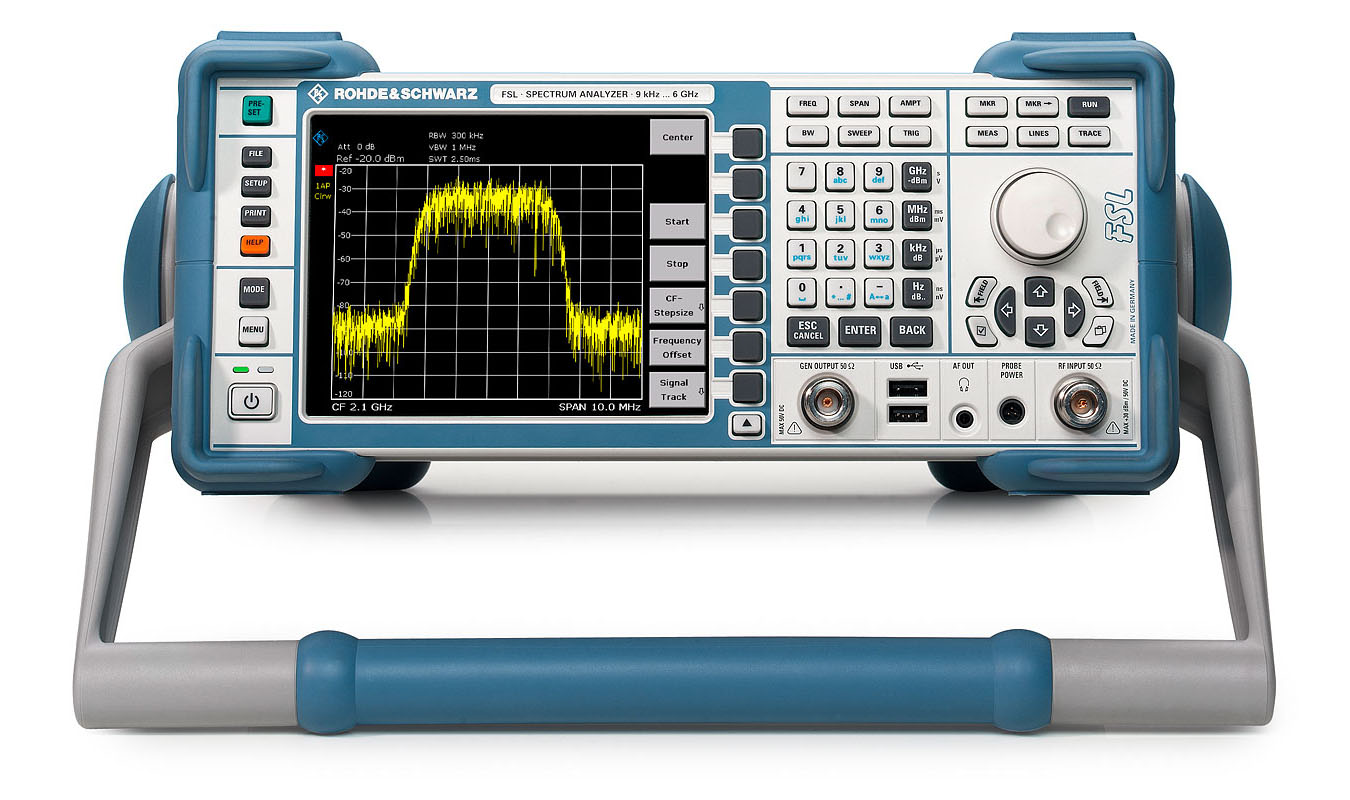 Rohde & Schwarz FSL3 RF Spectrum Analyzer, 9 kHz to 3 GHz