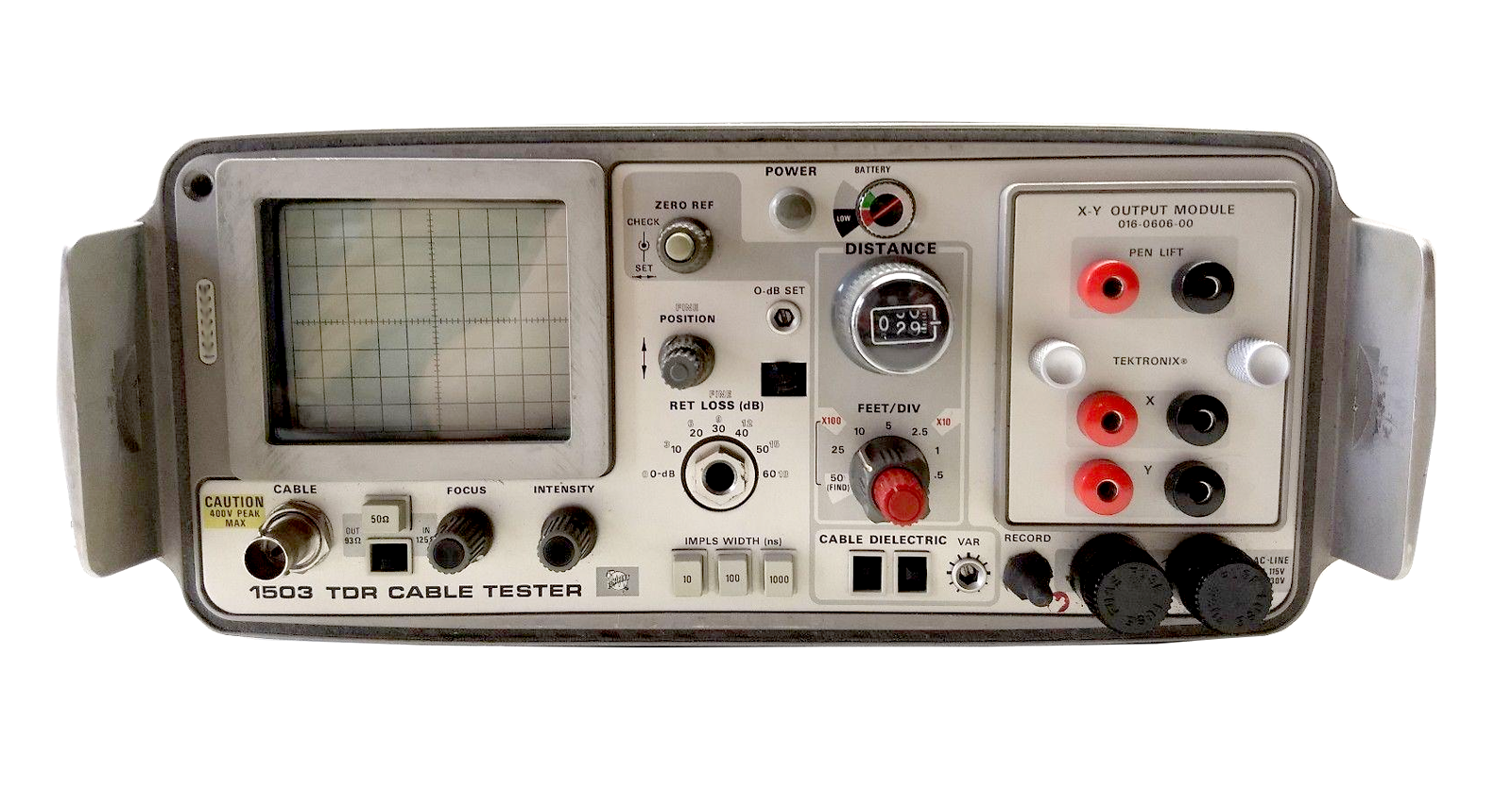 Tektronix 1503 TDR Time Domain Reflectometer Cable Tester