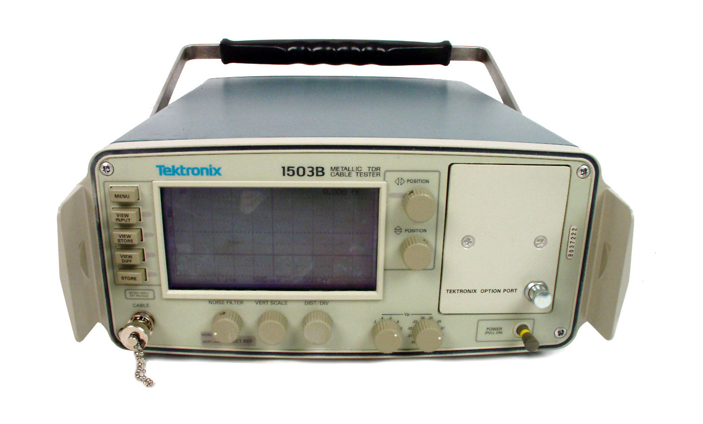 Tektronix 1503B TDR Time Domain Reflectometer Cable Tester
