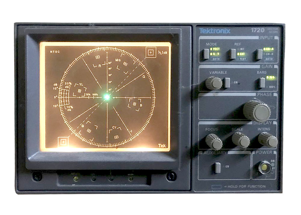 Tektronix 1720SCH NTSC Vectorscope