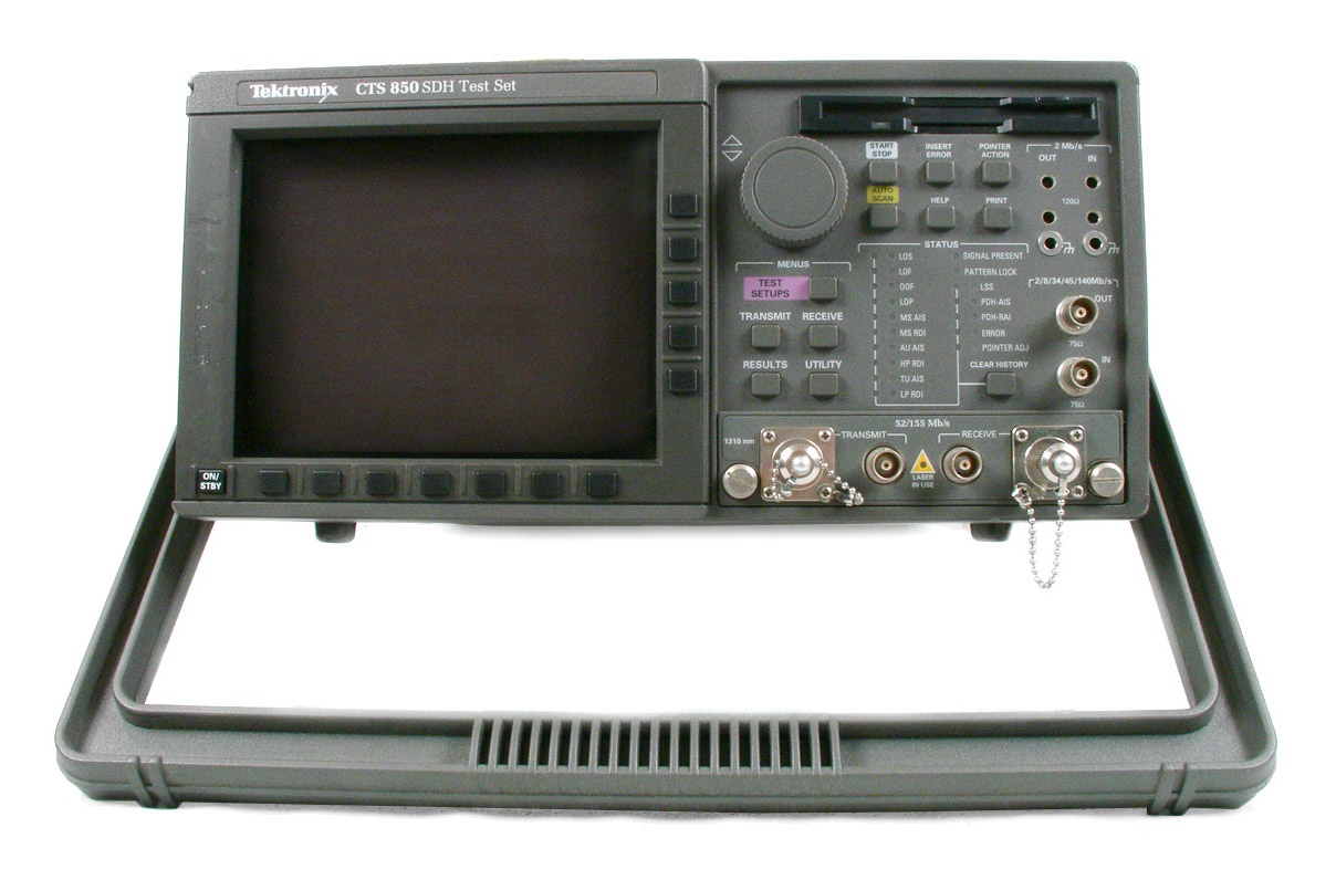 Tektronix CTS 850 SDH/PDH and Jitter/Wander Test Set