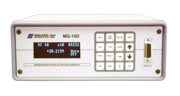 Walker MG-10D Microprocessor-Controlled Gaussmeter