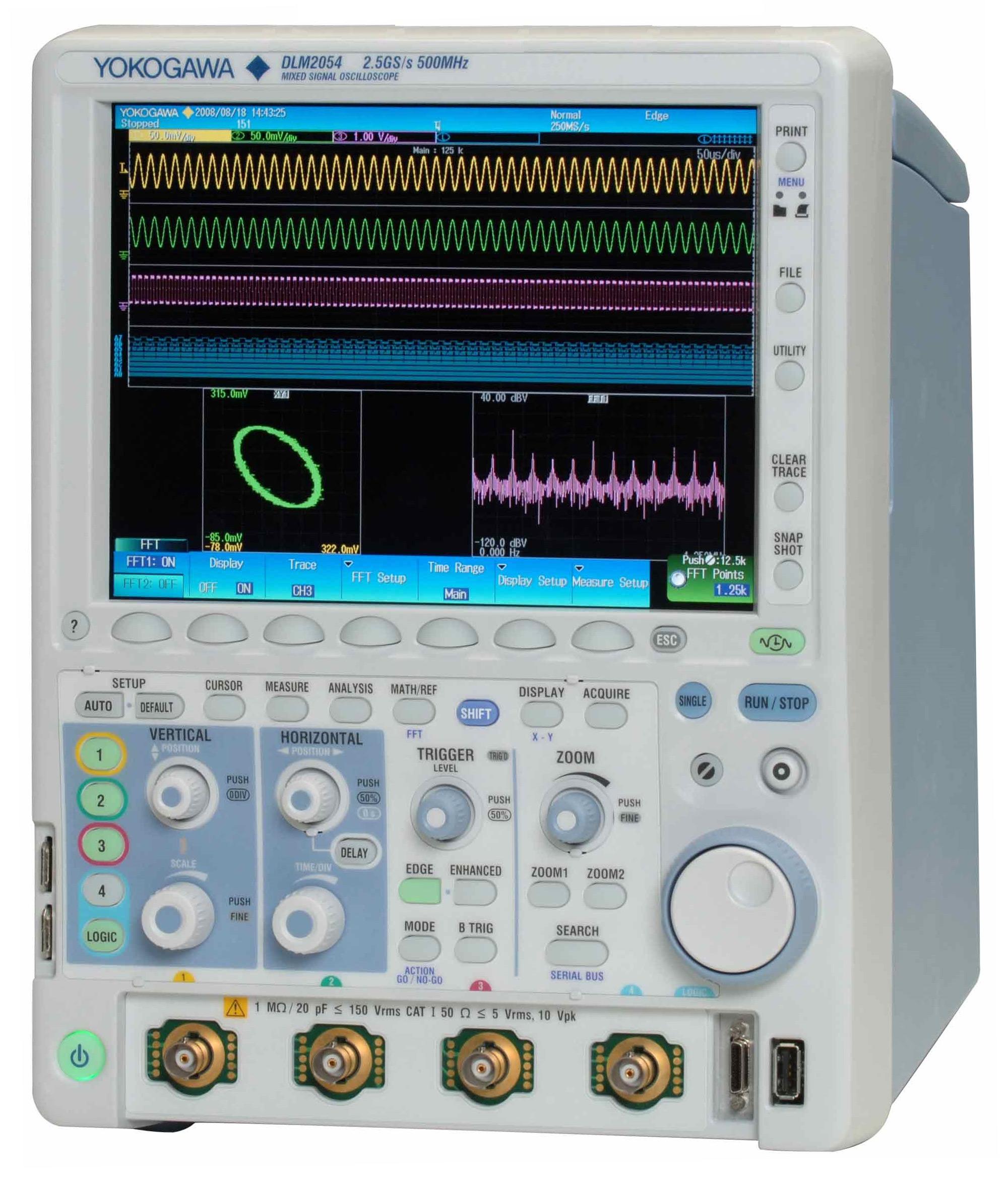Yokogawa Test Equipment Rentals Atec 0 500mhz Pic16f876 Rf Power Meter Dlm 2054 500 Mhz 16 Ch Digital 4 Analog Oscilloscope