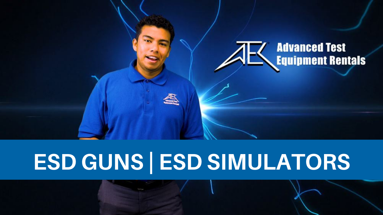 ESD Guns | ESD Simulators Overview (Electrostatic Discharge Test)