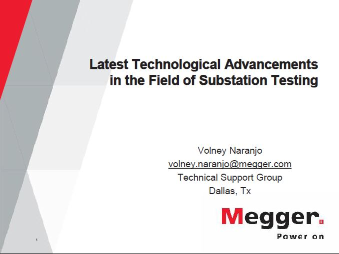 Substation Testing: Latest Technological Advancements