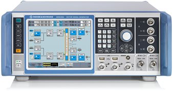 The Rohde & Schwarz SMW200A, a VSG designed for base station testing.
