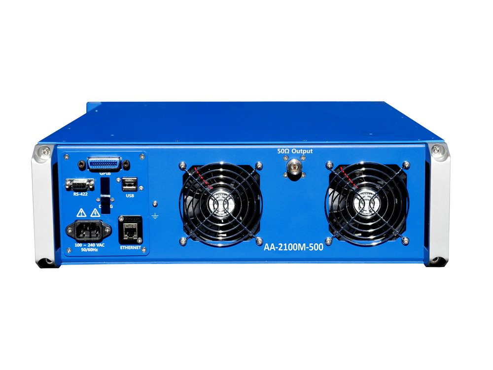 Advanced Amplifiers AA-2100M-500 Solid State Amplifier | 2 - 100MHz, 500W